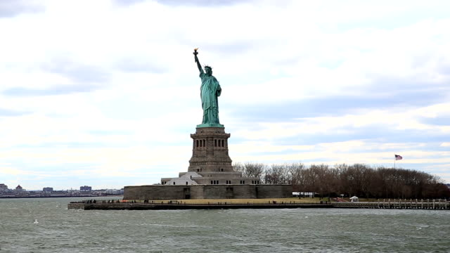 The Statue of Liberty in New York City video