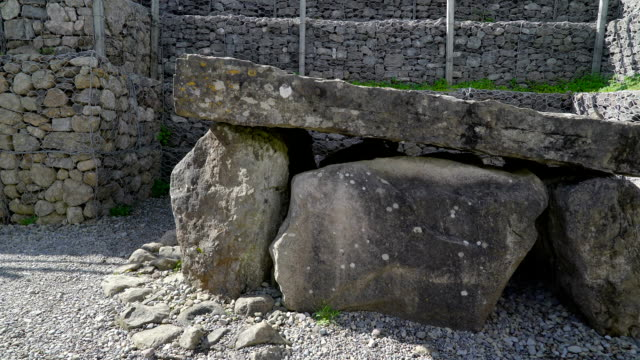 The stonehenge in the Carrowmore Megalithic Cemetery Ireland video