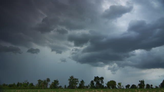 The storm clouds video