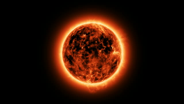 The sun with atmosphere solar video