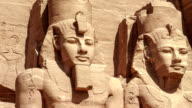 The temple of Abu Simbel in Egypt video