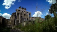 The Temple of Antoninus and Faustina timelapse video