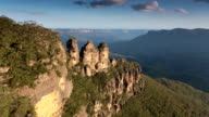 The Three Sisters viewed from Echo Point in the Blue Mountains video