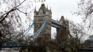 The tourist attraction call Tower Bridge video