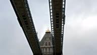 The Tower Bridge in London Bridge video