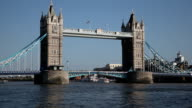 The Tower Bridge in London video