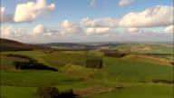 the Trossachs  - Aerial View - Scotland, Stirling, United Kingdom video