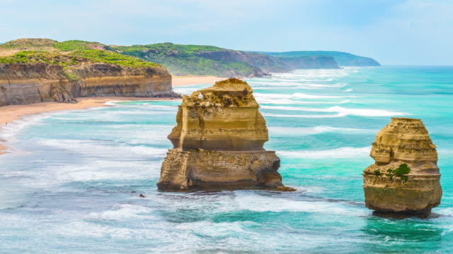 the Twelve Apostles, Victoria,Australia video