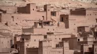 The walls and buildings of the greatest kasbah and ksar of Morocco video