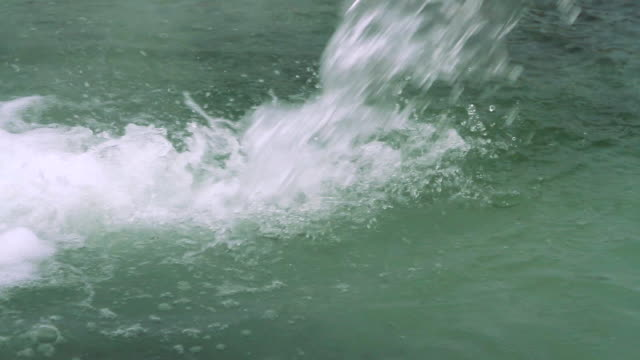 The water jet of hydrogen sulfide source video
