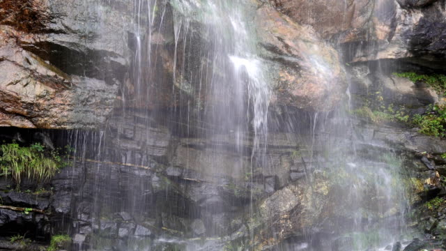 The waterfall video