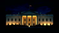 The White House At Night video
