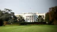 The White House (Tilt Shift Lens) video