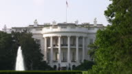 The White House, Washington DC, Zoom-In To Extreme Close-Up--HD video