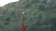The wind speed is fine, it is not dangerous video