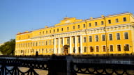 The Yusupov Palace in St. Petersburg, Russia video