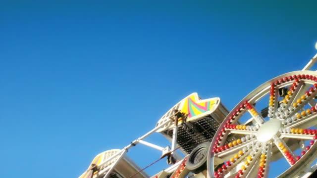 The Zipper Amusement Park Ride video