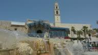 The Zodiac Fountain in Kedumim Square in Old Jaffa, Tel Aviv, Israel. video