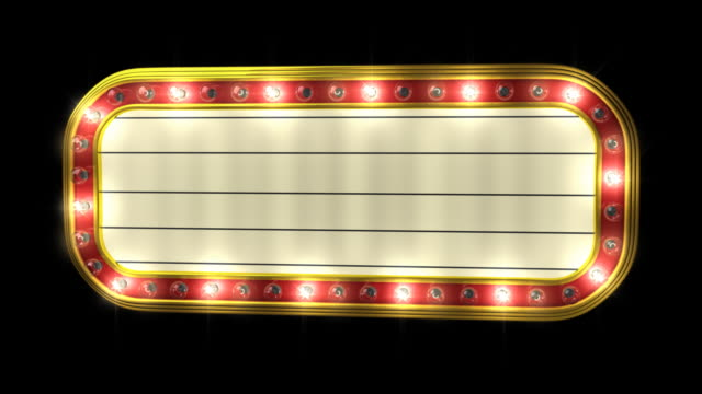 Theater Marquee video