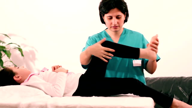 Therapeutic Exercise for children to legs video