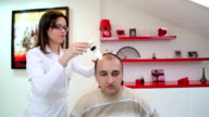 Therapy for baldness video