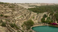Thermal Pool the Corbeille / Basket in Nafta , southern Tunisia video