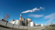 Thermal power plant. video