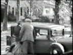 Thirties auto with three people video