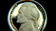 Thomas Jefferson Nickel coin video