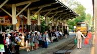 Thonburi Train station video
