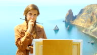 thoughtful artist on the beautiful wild coast video