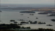 thousand Islands Near Alexandria Bay - Aerial View - New York,  Jefferson County,  United States video