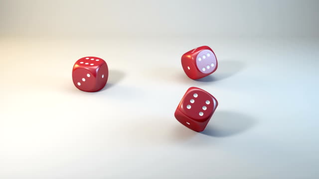 Three Dices Fall in Six video