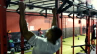 MONTAGE: Three Friends training in the gym video