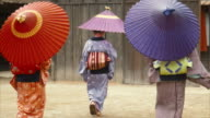 Three Generations of Edo Period Women (normal speed) video
