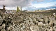 Three Sisters volcanic area video