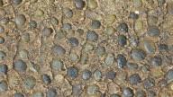 Three videos of stony background in 4K video