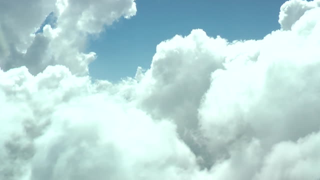 HD 1080: Through the clouds video