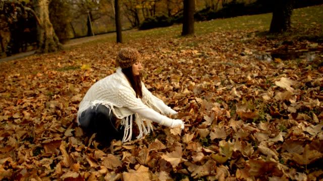 Throwing Leaves video