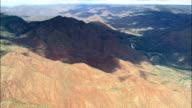 thunder Storms Over Mogollon Plateau  - Aerial View - Arizona, Navajo County, United States video
