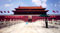 Tiananmen, Gate of Heavenly Peace, Beijing video