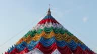 Tibet flags colors video