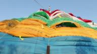 Tibet prayer flags video