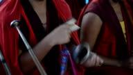 Tibetan buddhist monk. video