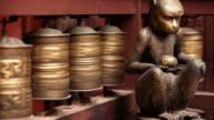 tibetan prayer wheel nepal video