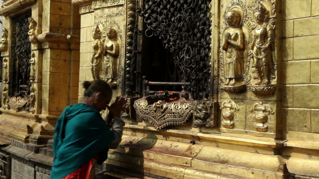 tibetan prayer wheel nepal video