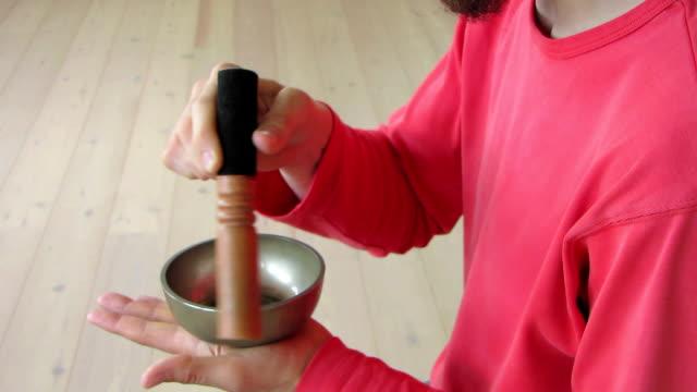 HD: Tibetan Singing Bowl (with sound) video