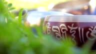 tibetian bowls bells Tingsha video