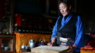 Tibetian Woman video