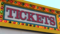 Ticket Sign video